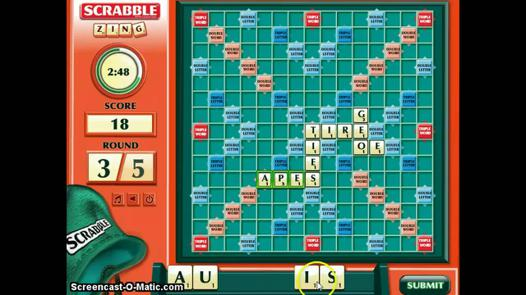 scrabble zing king com