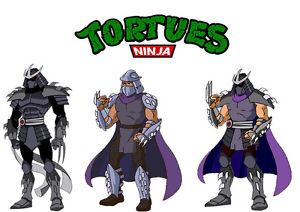tortue ninja shredder