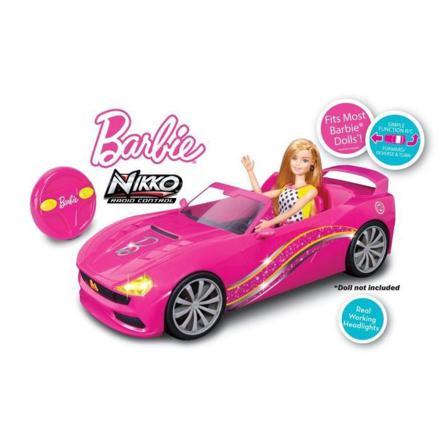 voiture télécommandée barbie