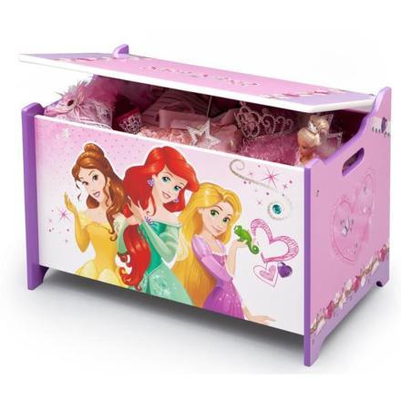 coffre a jouet princesse