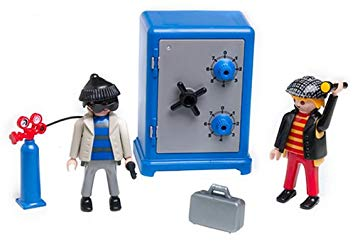 coffre fort playmobil