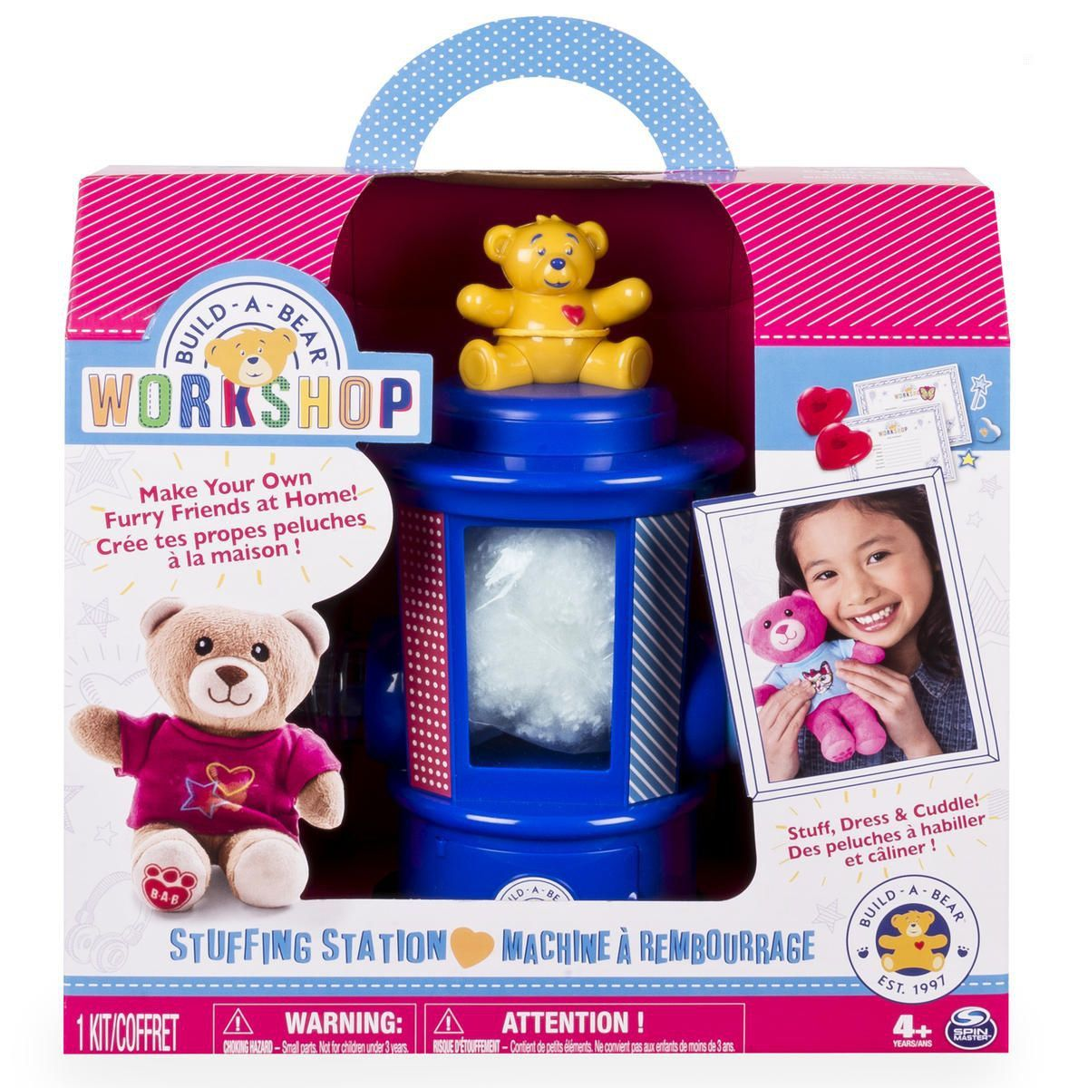 coffret atelier build a bear