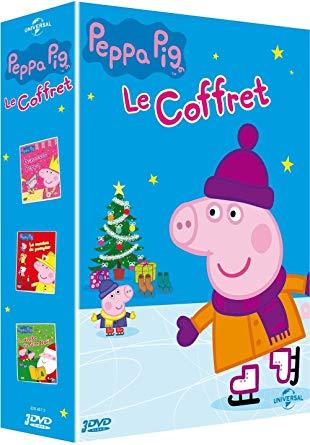 coffret dvd peppa pig