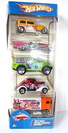 coffret hot wheels