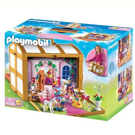 coffret playmobil transportable