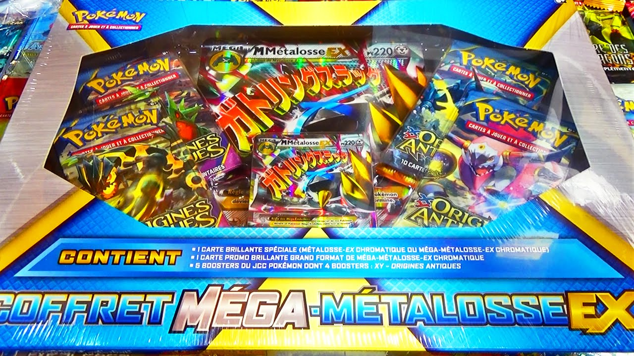 coffret pokemon mega ex