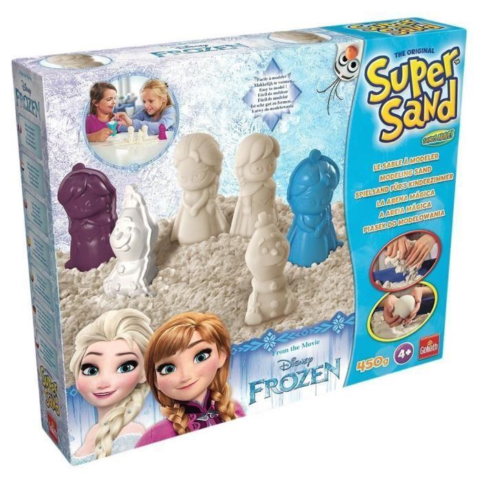 coffret sable magique reine des neiges