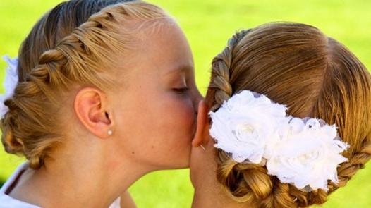 coiffure pour petite fille de 10 ans