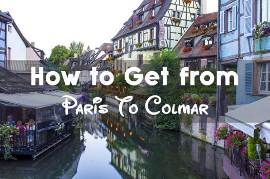 colmar to paris train