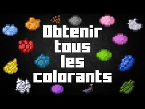 colorant vert minecraft