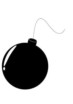 coloriage bombe