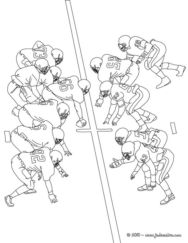 coloriage de foot en ligne