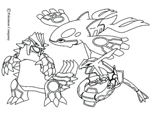 coloriage de pokemon les plus fort