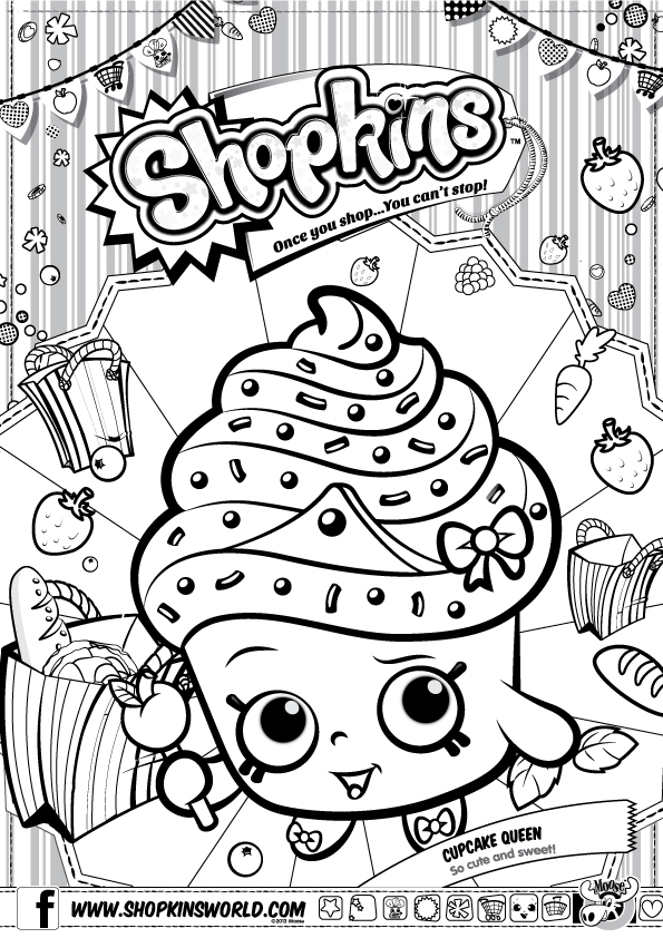 coloriage de shopkins