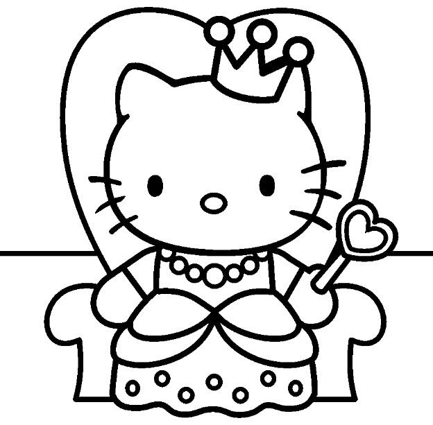 coloriage en ligne hello kitty