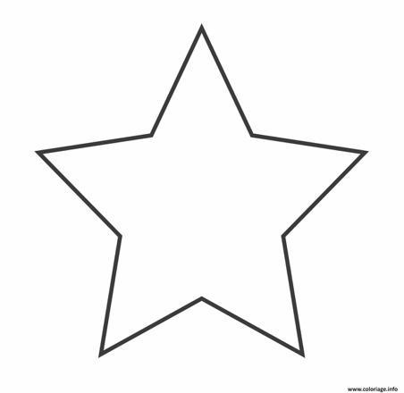 coloriage étoile