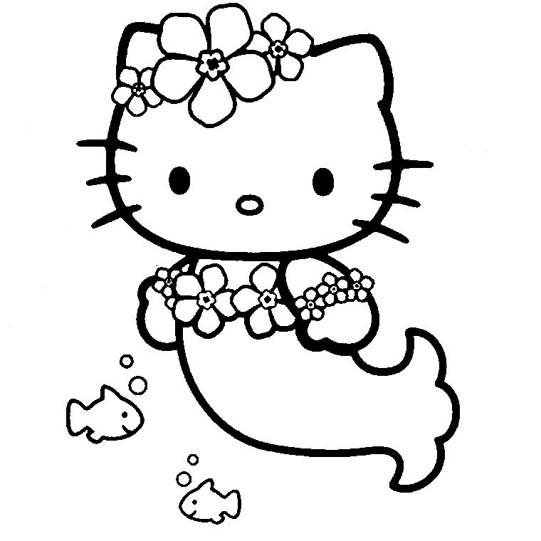 coloriage hello kitty en ligne