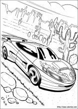 coloriage hot wheels