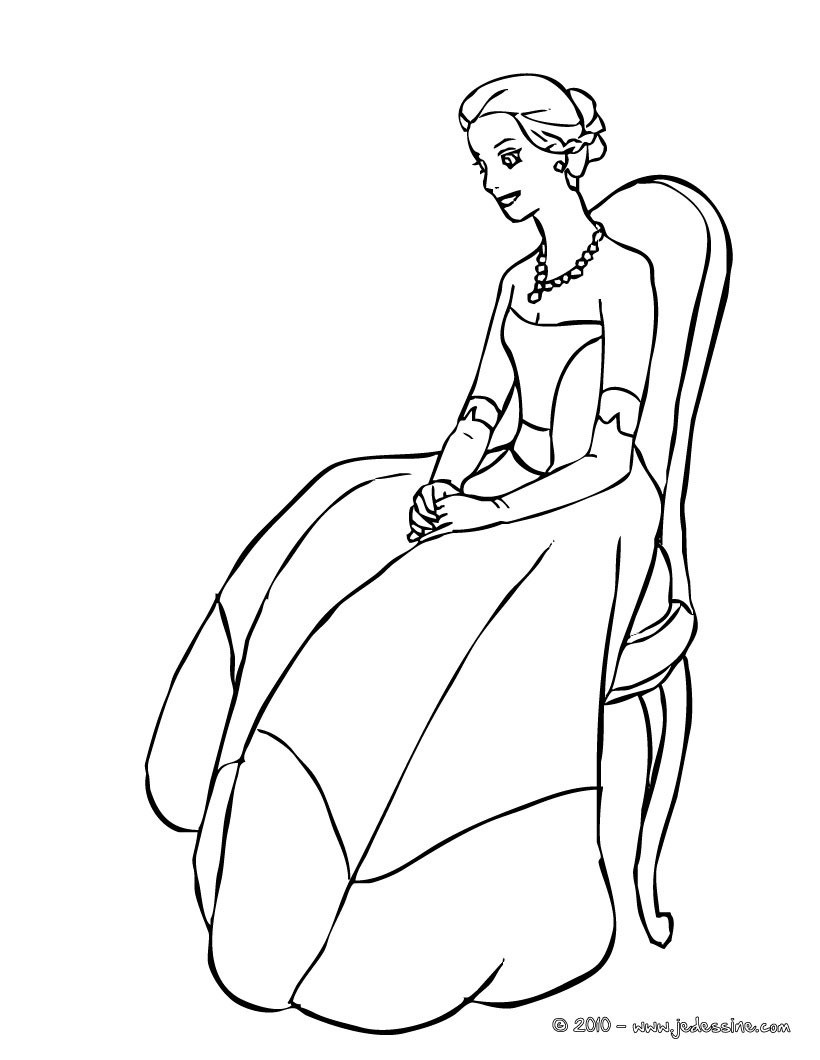coloriage interactif princesse