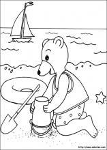 coloriage petit ours