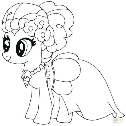 coloriage pinkie pie