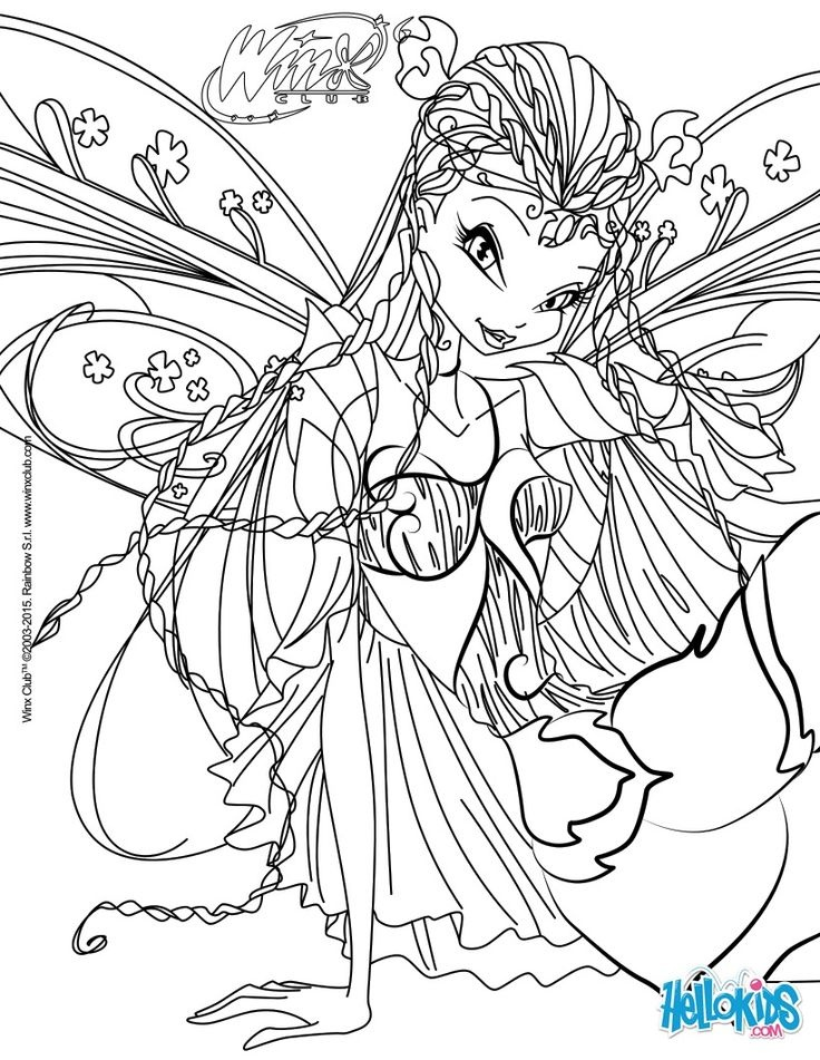 coloriage wings