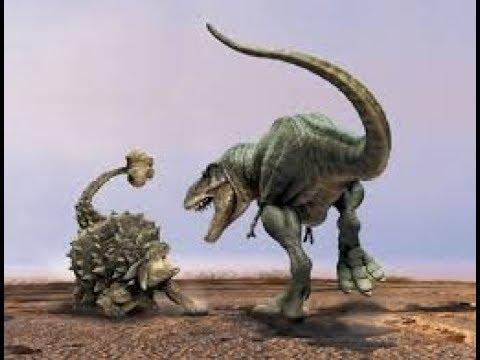 combat de dinosaure
