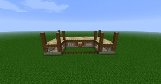 construction de maison minecraft