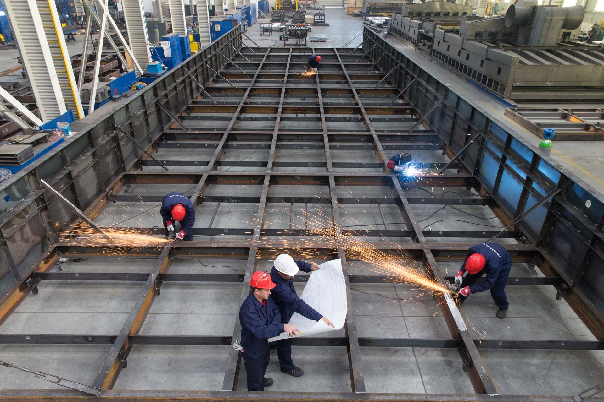 construction en metal
