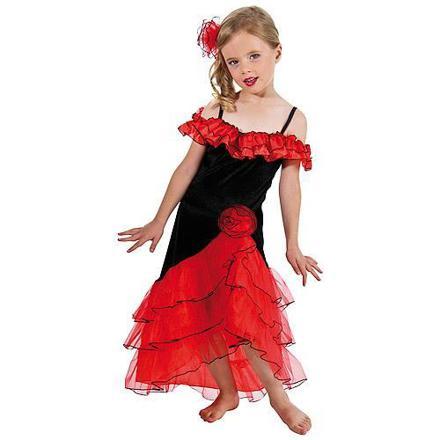 costume espagnole fille