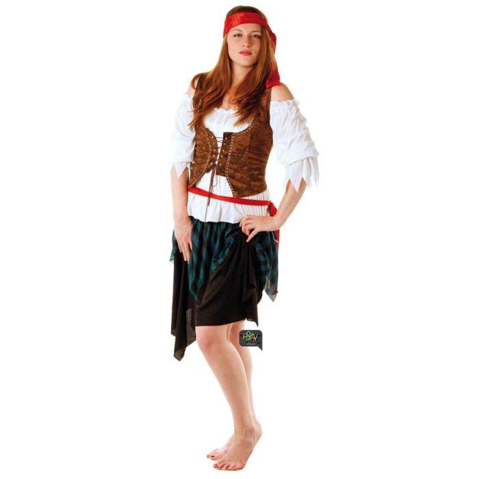 costume pirate femme maison