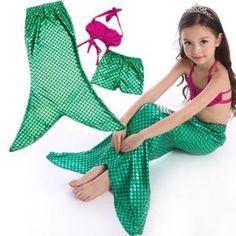 costume sirene enfant