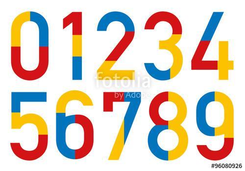 couleur chiffre