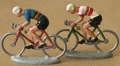 coureurs cyclistes miniatures