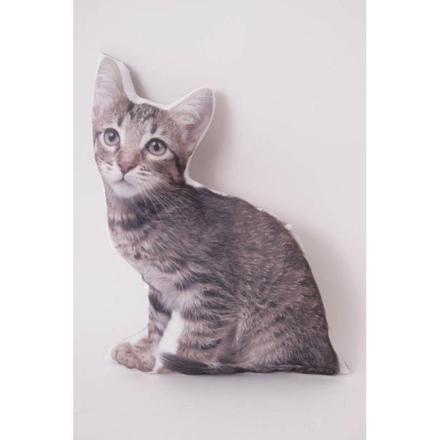 coussin forme chat