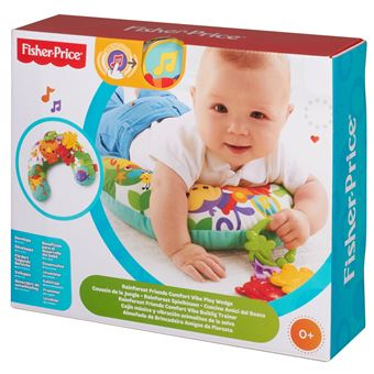 coussin vibrant fisher price