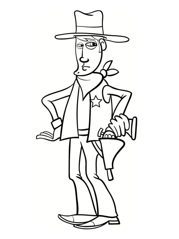 cowboy dessin