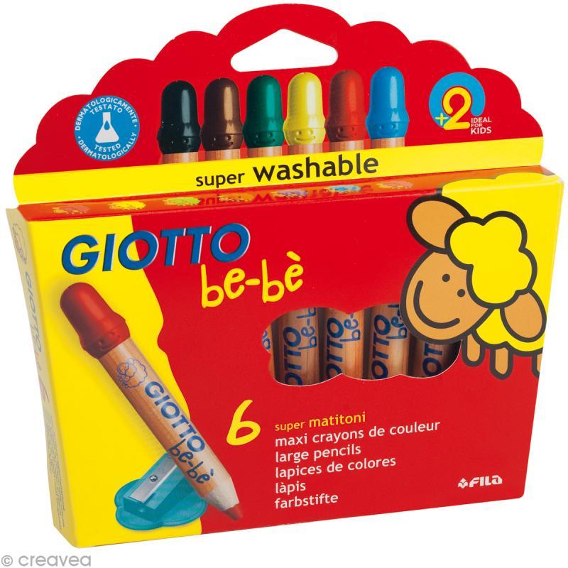 crayon couleur bébé