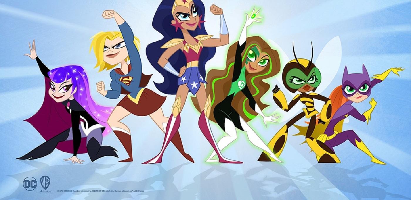 dc superhero girl