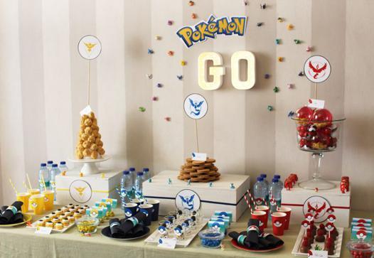 deco anniversaire pokemon