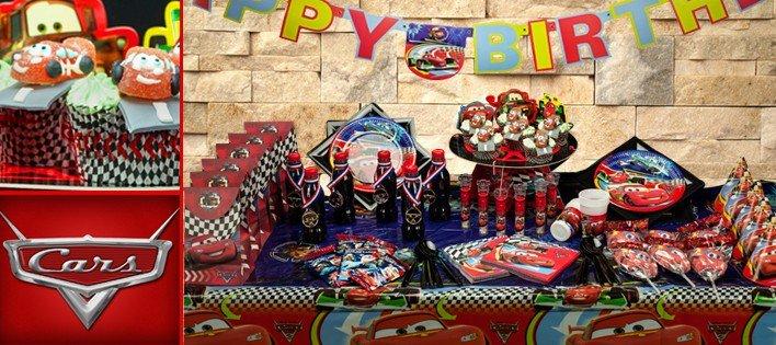 deco cars anniversaire