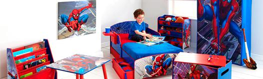 deco chambre spiderman