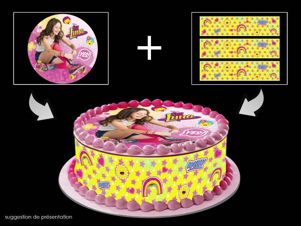 decoration gateau soy luna