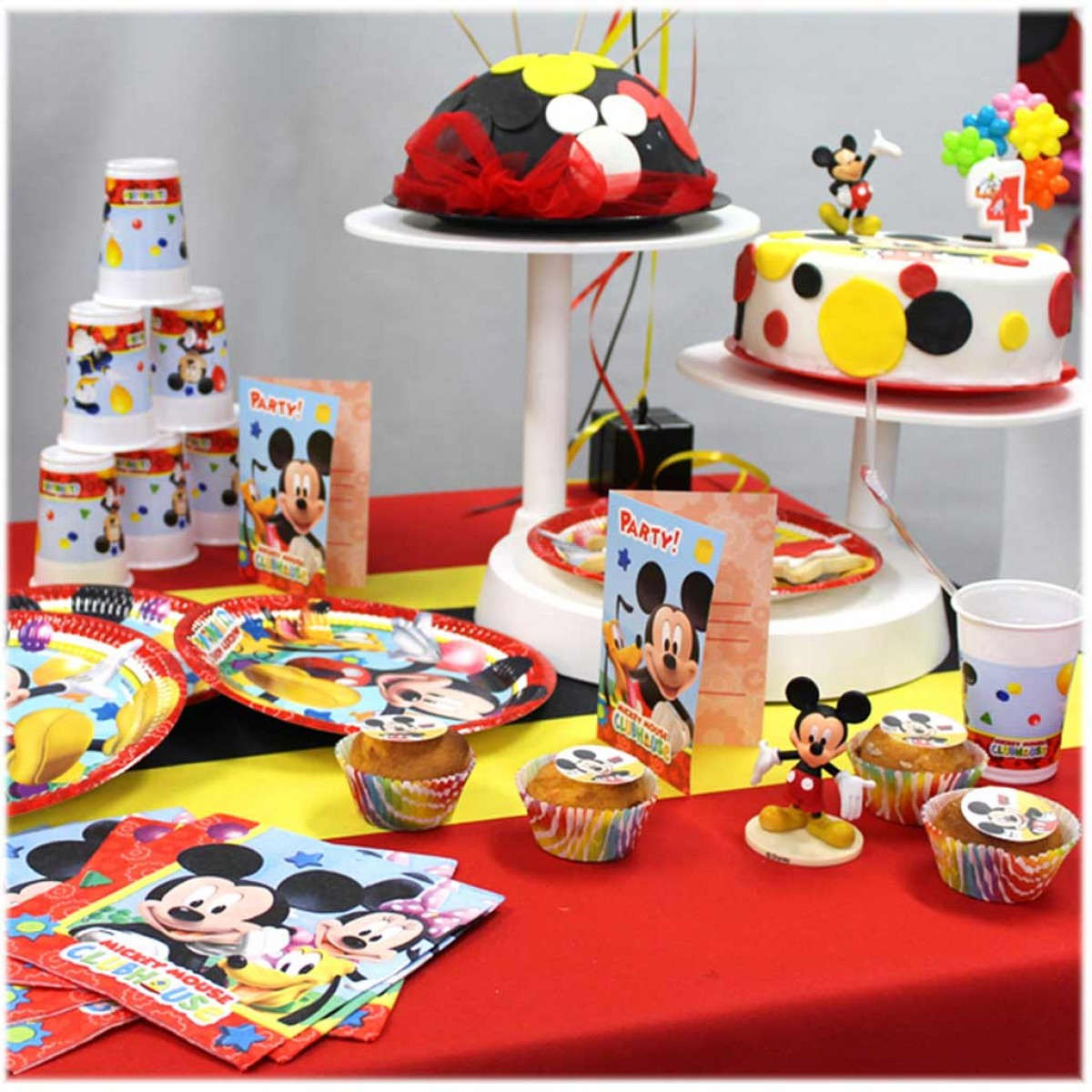 decoration mickey anniversaire
