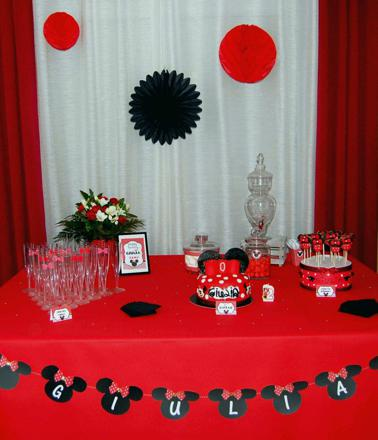 decoration minnie anniversaire