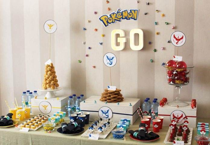 decoration pokemon anniversaire