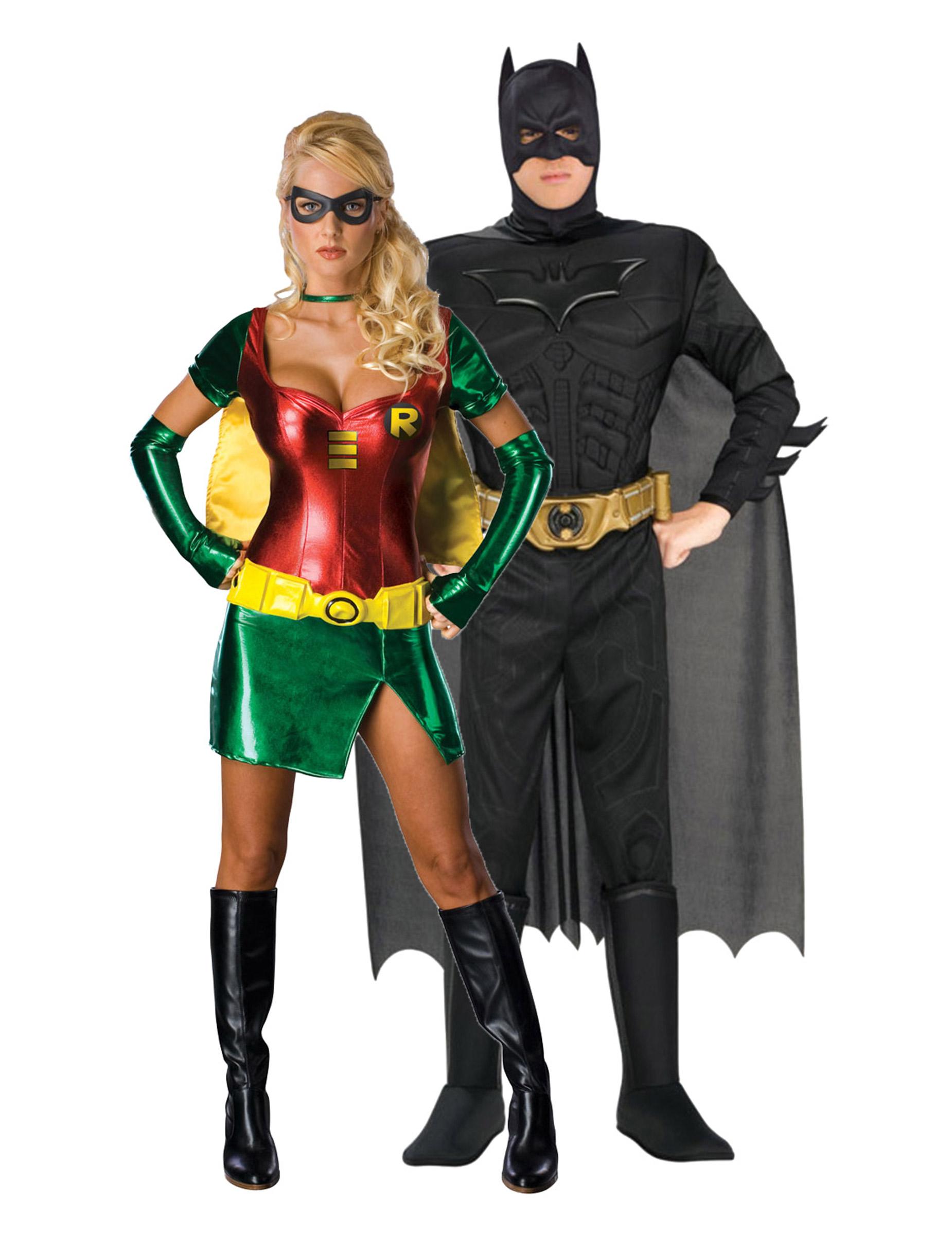 déguisement batman et robin