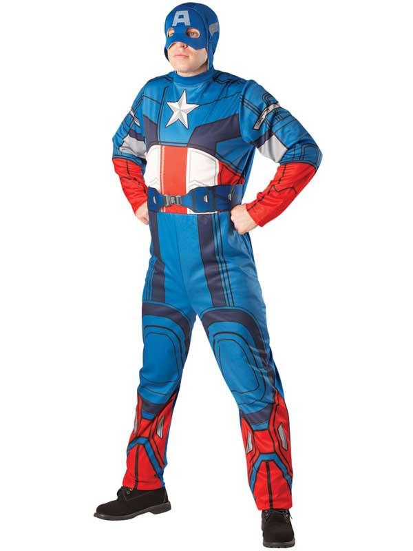 deguisement captain america homme