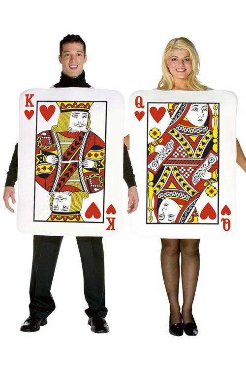 déguisement carte à jouer