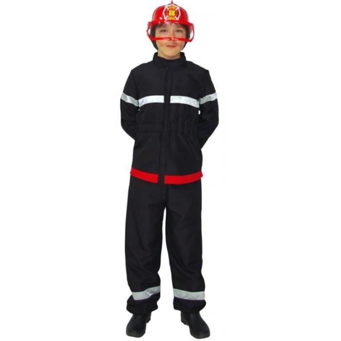 déguisement de pompier garçon
